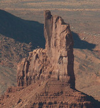 Flying Monument Valley